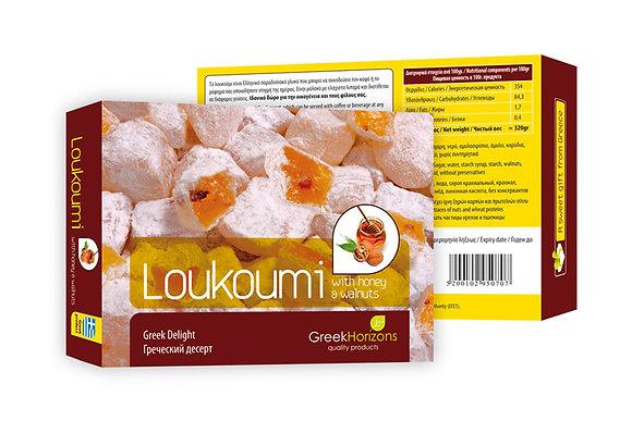 Λουκούμι καρύδι & μέλι 320γρ