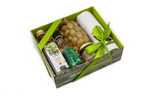 Traditional olive gift box No145