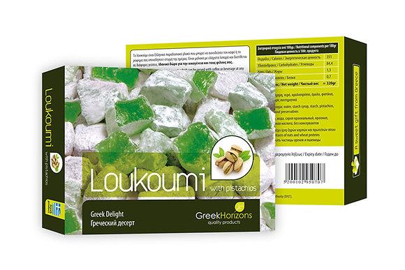 Λουκούμι φυστίκι 320γρ