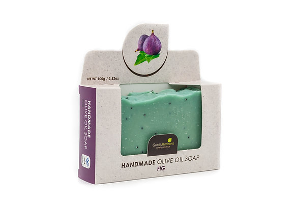 Handmade olive oil soap Fig 100g