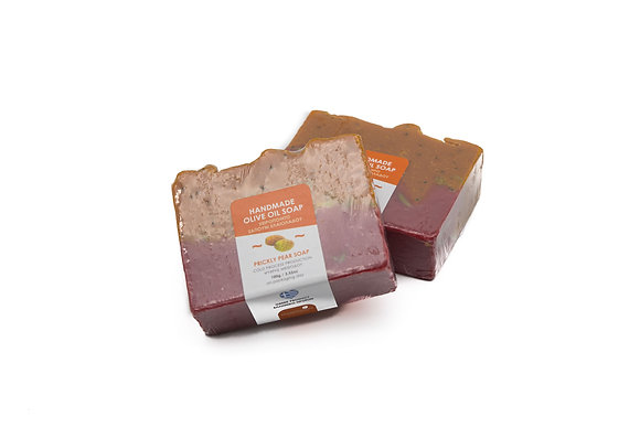 Handmade olive oil soap Prickly pear  100g