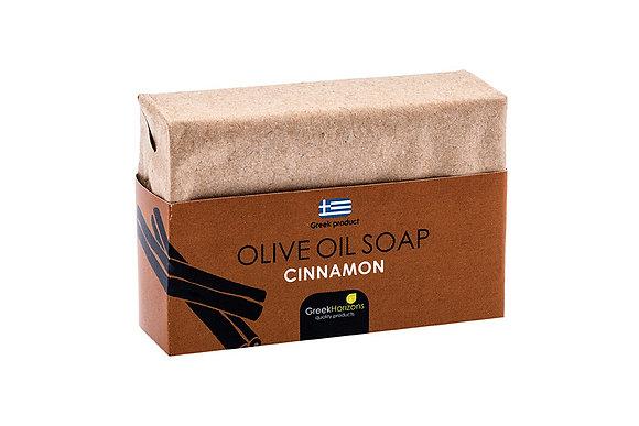 Σαπούνι ελαιολάδου οικολογικό χαρτί κανέλα 100γρ