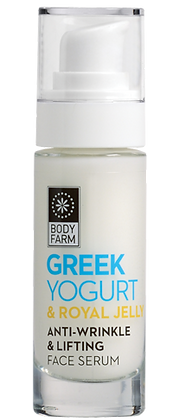 Anti-wrinkle & lifting face serum Greek yoghurt & royal jell 30ml