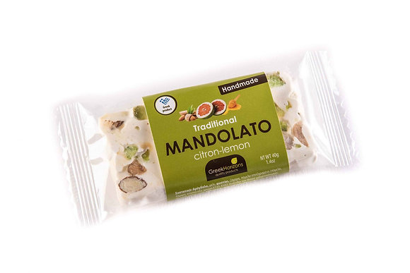Mandolato (nougat) citron-lemon 50g