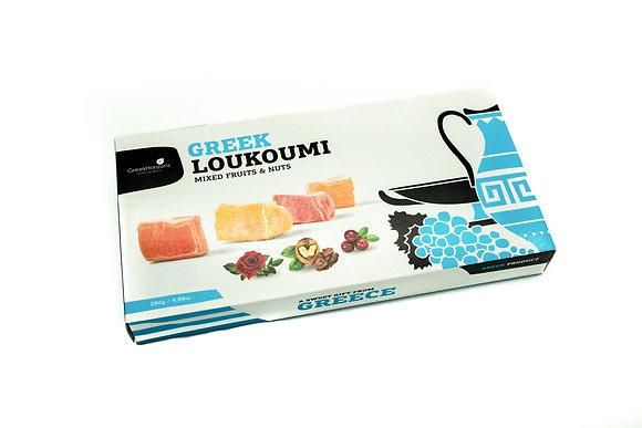 Loukoumi Mixed nut & fruits 280g