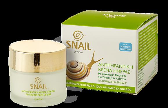 Antiaging face cream  Snail Olivie 60ml.