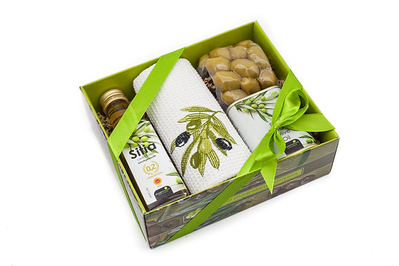 Traditional olive gift box No121