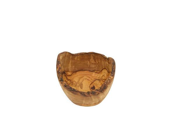 Olive wood bowl natural 16cm