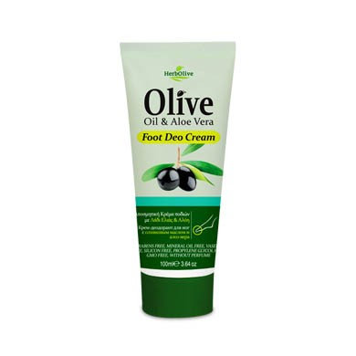 Foot deo cream Aloe vera HerbOlive 150ml