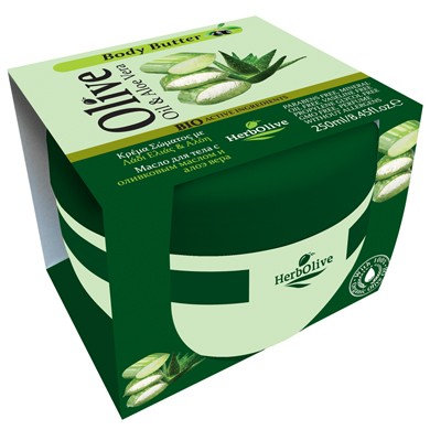 Body butter Aloe vera HerbOlive 250ml