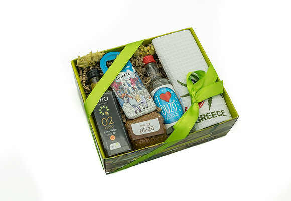 Traditional olive gift box No154