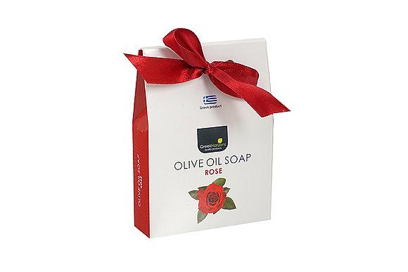 Olive oil soap bag rose 100g