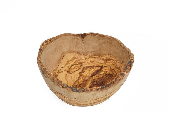 Olive wood bowl natural 28cm