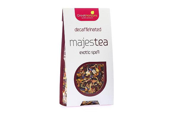 Τσάι χωρίς καφεΐνη Majestea Exotix spell 65γρ