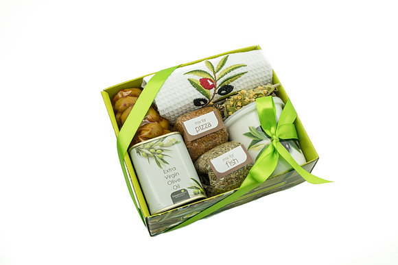Traditional olive gift box No146