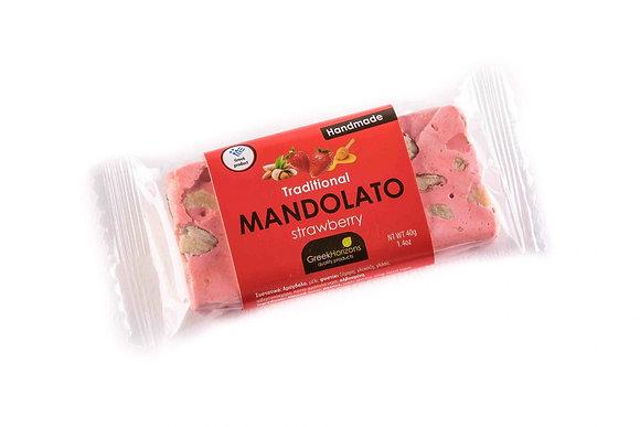 Μαντολάτο φράουλα 50γρ