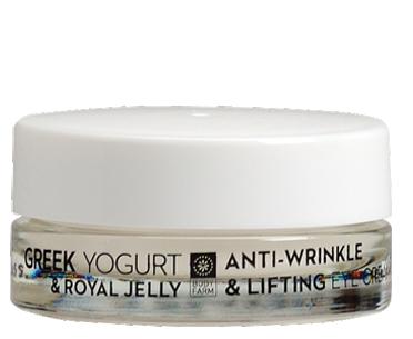 Anti-wrinkle & lifting eye cream Greek yoghurt & royal jell 15ml