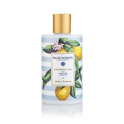 Shower gel Juicy lemon 'Blue Scents' 300ml
