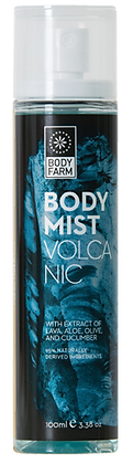 Body mist Volcano Body Farm 100ml.