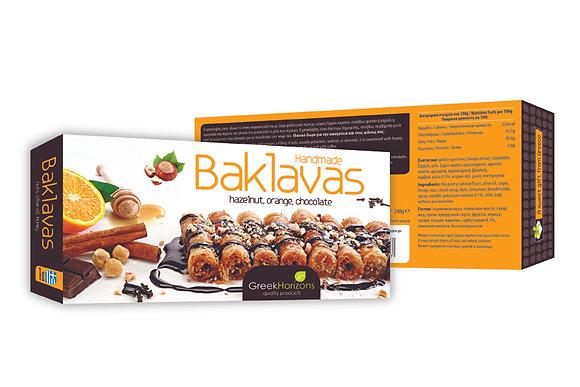 Baklava hazelnut, orange & chocolate 240g