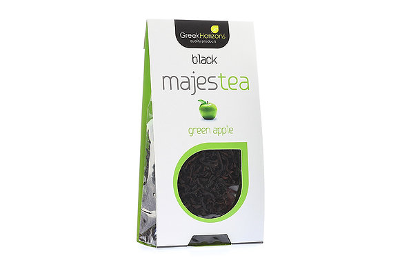Μαύρο τσάι Majestea Πράσινο μήλο 40γρ