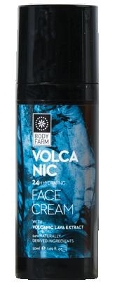 24H Hydrating day cream Volcano Body Farm 50ml.