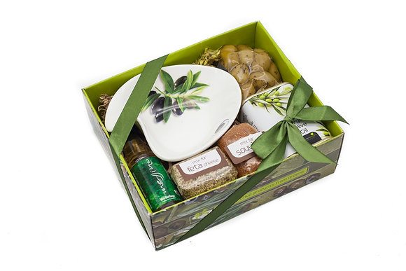 Traditional olive gift box No110