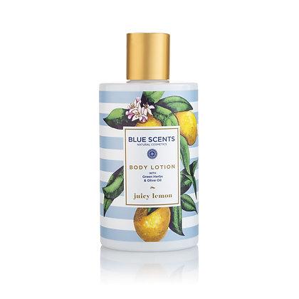 Body lotion Juicy Lemon 'Blue Scents' 300ml