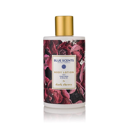 Body lotion Dark Cherry 'Blue Scents' 300ml