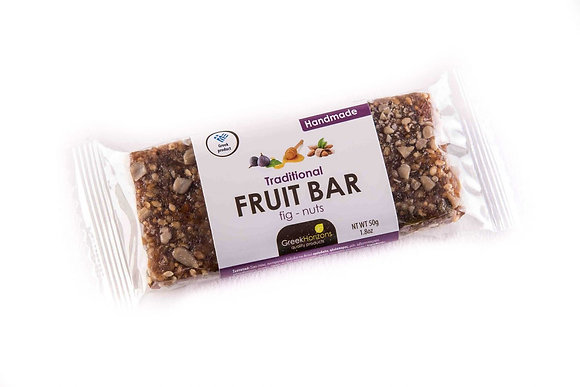 Fruit bar with fig & nuts 65g