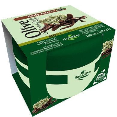 Body butter Creatn carob HerbOlive 250ml