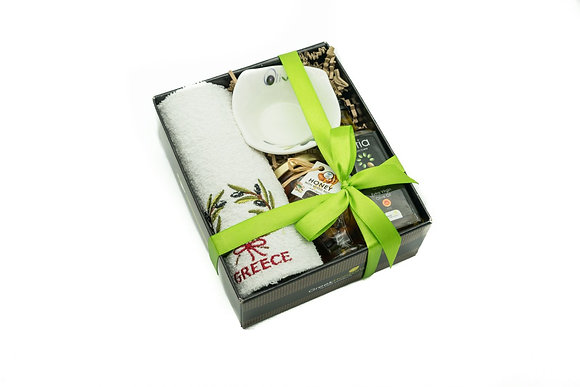 Traditional honey gift box No208