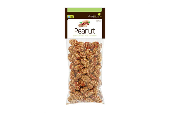 Caramelized peanutswith sesame 200g