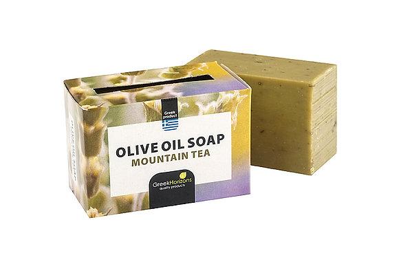 Cretan herbs soap mountain tea  110g