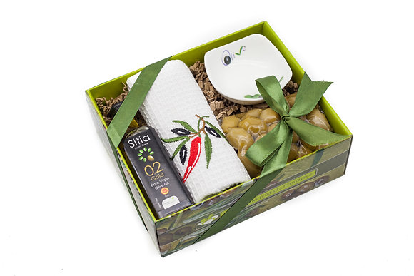 Traditional olive gift box No152