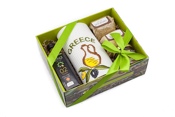 Traditional olive gift box No127