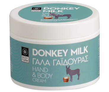 Hand & body cream Donkey milk Body farm 200ml