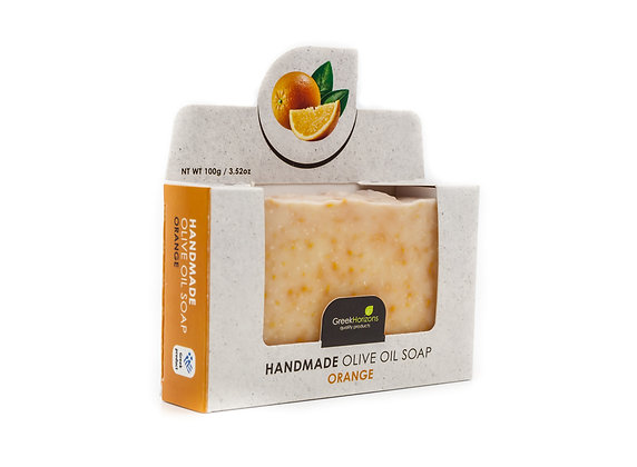 Handmade olive oil soap Orange 100g