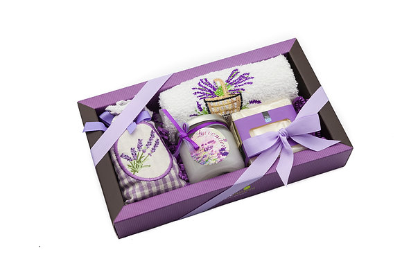 Lavender gift box No62