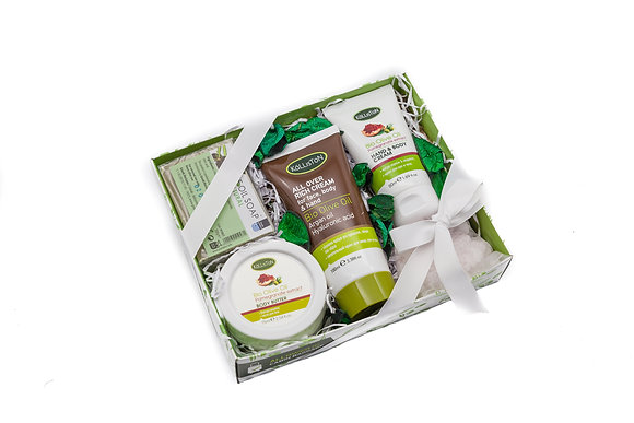 Cosmetic gift box olive No6
