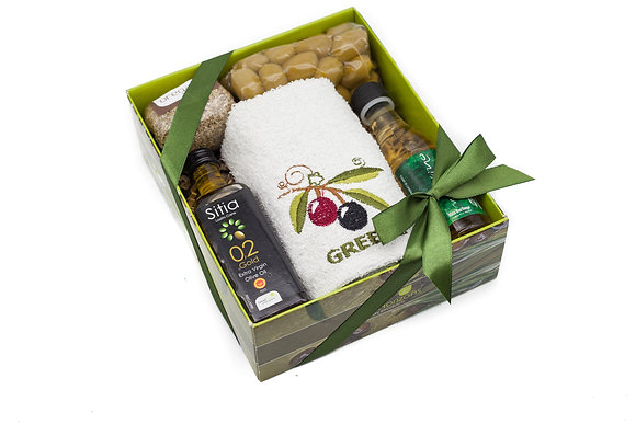 Traditional olive gift box No120