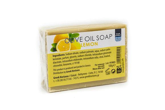 Olive oil soap lemon 100g