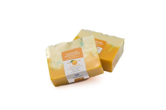Handmade olive oil soap Orange 100g