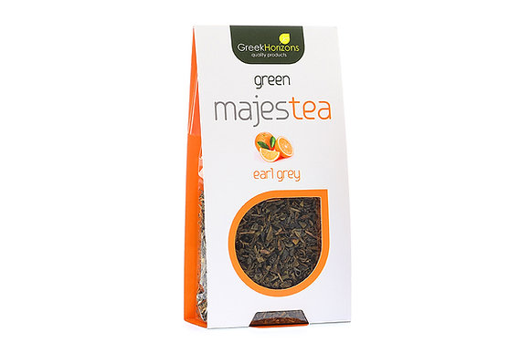 Πράσινο τσάι Majestea πορτοκάλι 50γρ