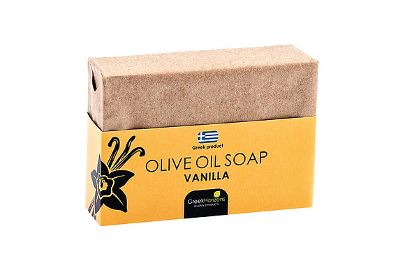 Eco paper olive oil soap vanilla 100g