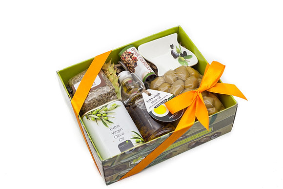 Traditional olive gift box No108