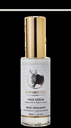Face serum Donkey milk Kyr Mentios 30ml.