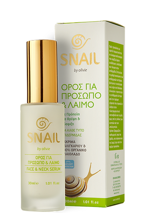 Face & neck serum Snail Olivie 30ml.