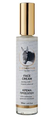 Face cream Donkey milk Kyr Mentios 50ml.