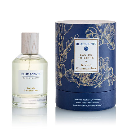Eau De Toilette Freesia & Osmanthus 'Blue Scents' 100ml